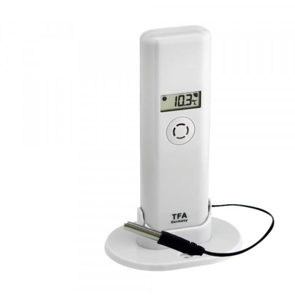 Vorschau: Thermo-Hygro-Sender mit Kabelfühler